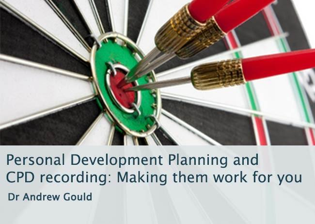 Image linking to course on personal development planning