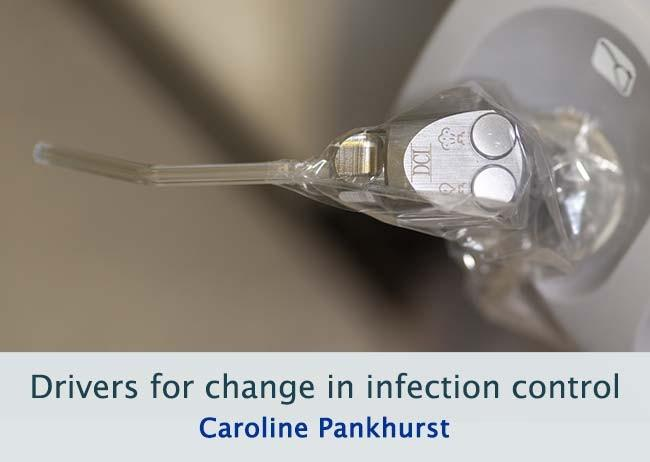 Drivers for change in infection control image