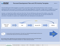 PDP and CPD template