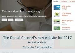 The Dental Channel's new website for 2017
