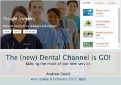 The 2017 Dental Channel is GO!